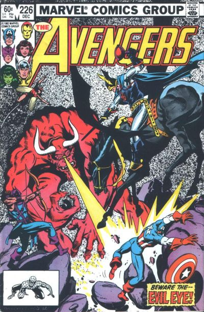 Cover for The Avengers (1963 series) #226