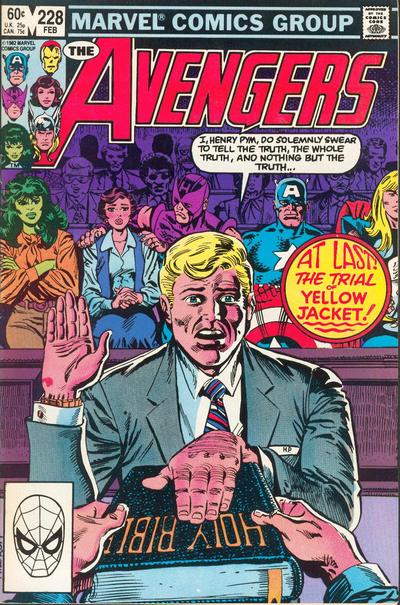Cover for The Avengers (1963 series) #228
