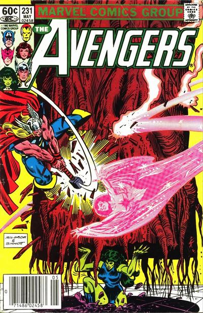 Cover for The Avengers (1963 series) #231 [Newsstand Edition]