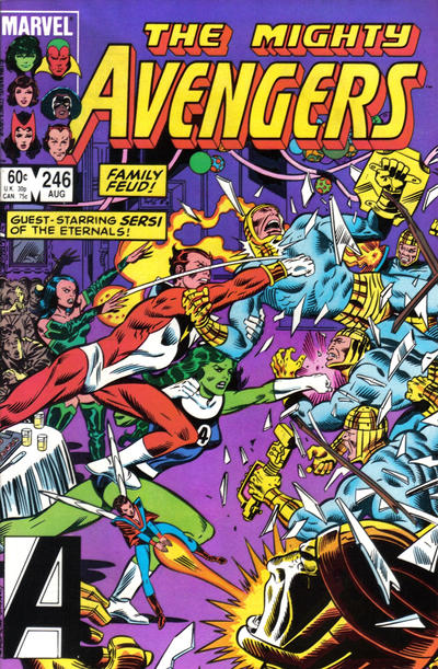 Cover for The Avengers (1963 series) #246