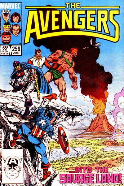 Cover for The Avengers (Marvel, 1963 series) #256 [Direct Edition]