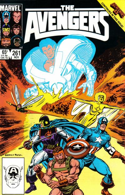 Cover for The Avengers (Marvel, 1963 series) #261 [Direct Edition]