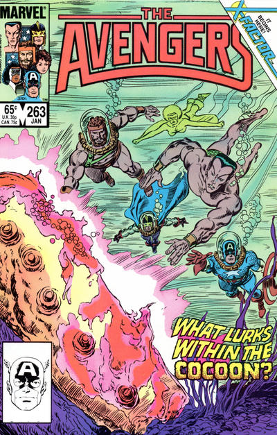 Cover for The Avengers (Marvel, 1963 series) #263 [Direct Edition]