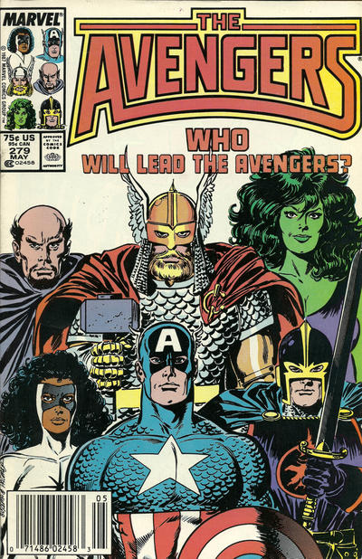 Cover for The Avengers (1963 series) #279 [Direct Edition]