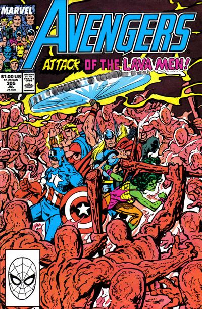 Cover for The Avengers (1963 series) #305