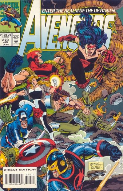 Cover for The Avengers (1963 series) #370