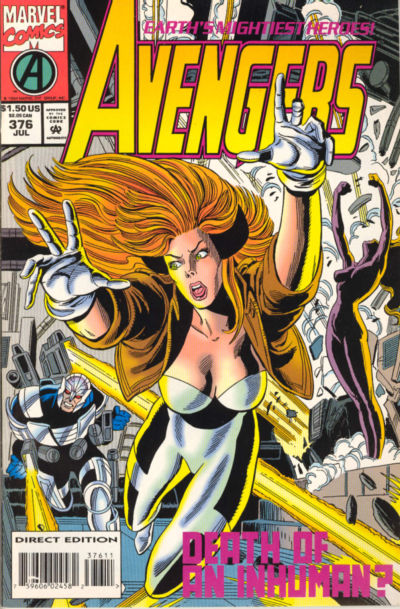 Cover for The Avengers (Marvel, 1963 series) #376 [Direct Edition]