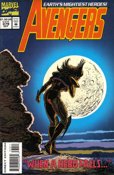 Cover for The Avengers (Marvel, 1963 series) #379 [Direct Edition]