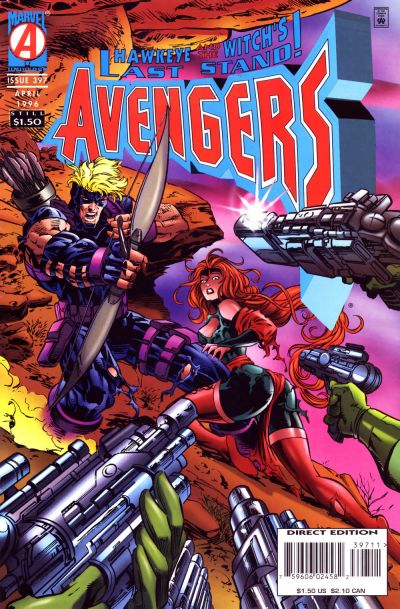 Cover for The Avengers (Marvel, 1963 series) #397 [Direct Edition]