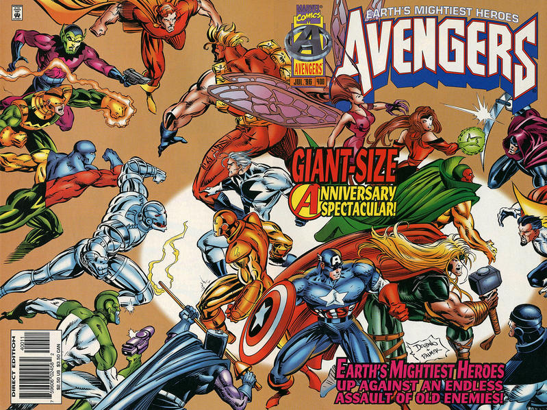 Cover for The Avengers (Marvel, 1963 series) #400 [Direct Edition]