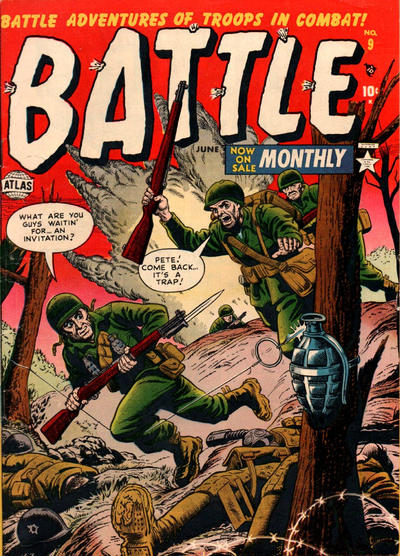 Cover for Battle (Marvel, 1951 series) #9