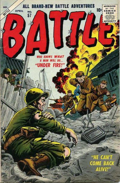Cover for Battle (Marvel, 1951 series) #57