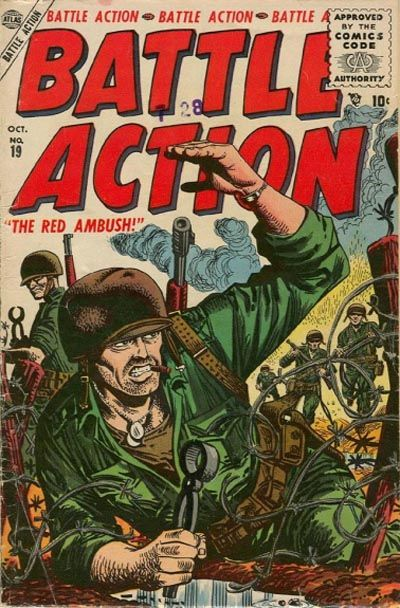 Cover for Battle Action (1952 series) #19