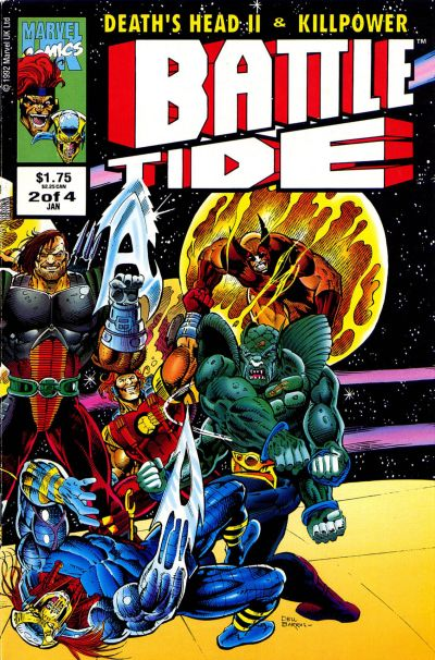 Cover for Battletide (1992 series) #2