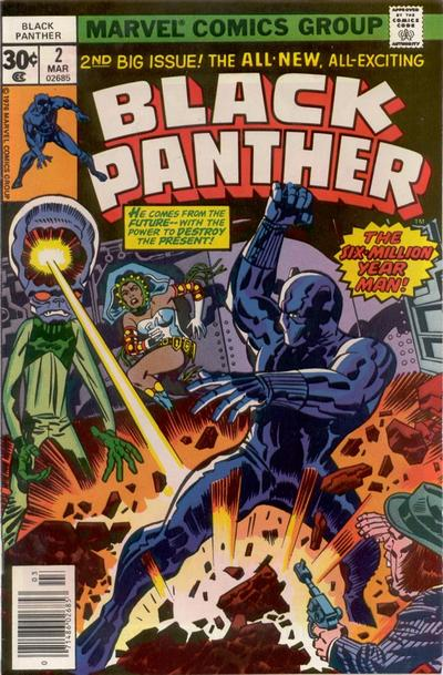 Cover for Black Panther (Marvel, 1977 series) #2