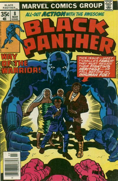 Cover for Black Panther (Marvel, 1977 series) #8 [Regular Edition]