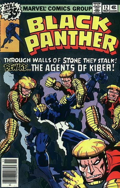 Cover for Black Panther (Marvel, 1977 series) #12