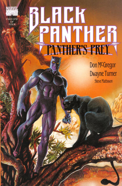Cover for Black Panther: Panther's Prey (Marvel, 1991 series) #1