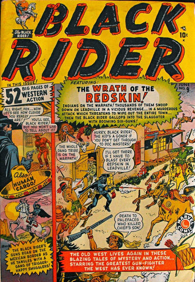 Cover for Black Rider (Marvel, 1950 series) #9