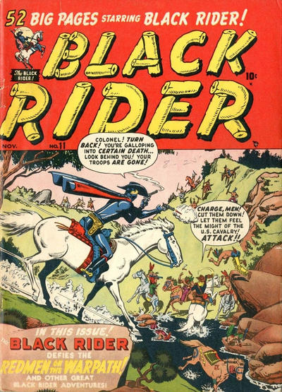 Cover for Black Rider (Marvel, 1950 series) #11