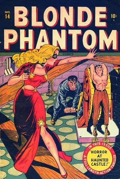 Cover for Blonde Phantom Comics (Marvel, 1946 series) #14