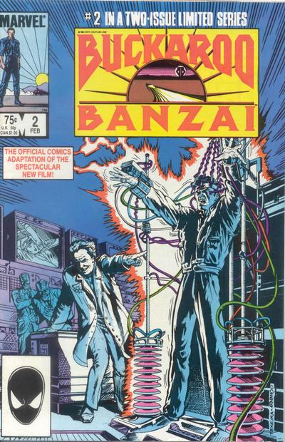 Cover for Buckaroo Banzai (Marvel, 1984 series) #2