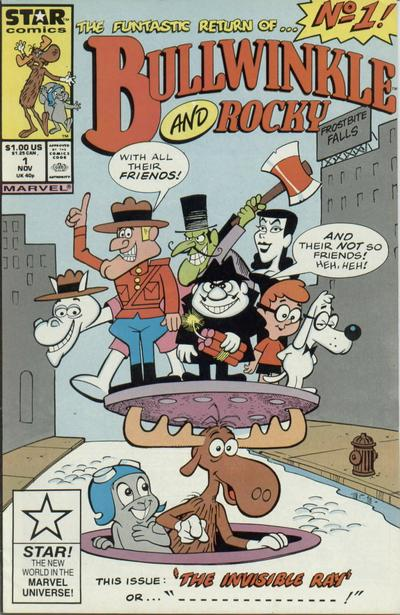 Cover for Bullwinkle and Rocky (1987 series) #1