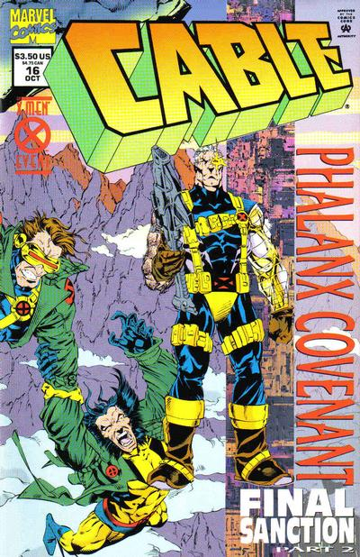 Cover for Cable (1993 series) #16 [Foil Enhanced Cover]