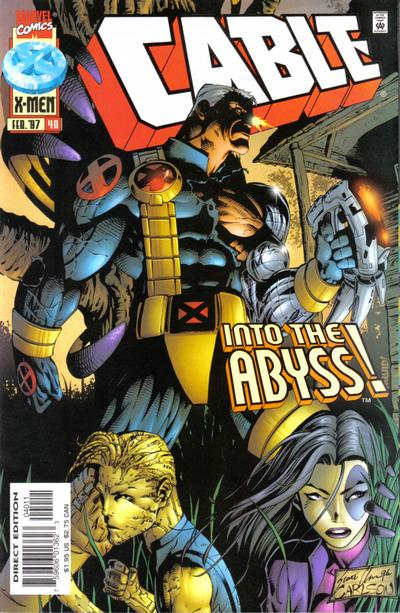 Cover for Cable (Marvel, 1993 series) #40 [Direct Edition]