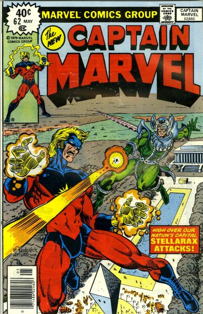 Cover for Captain Marvel (Marvel, 1968 series) #62 [Regular Edition]