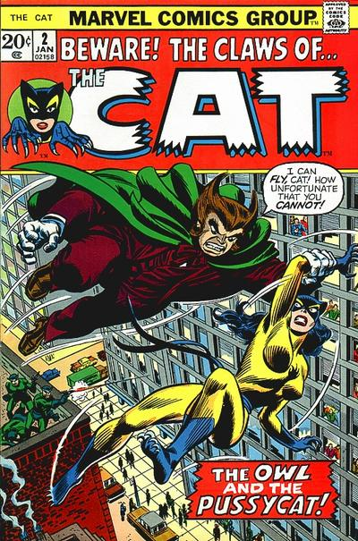 Cover for The Cat (1972 series) #2