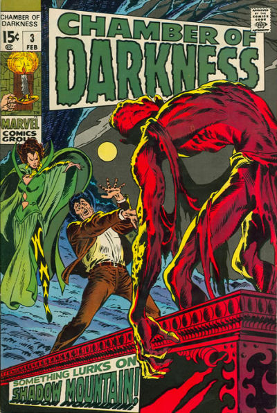 Cover for Chamber of Darkness (Marvel, 1969 series) #3