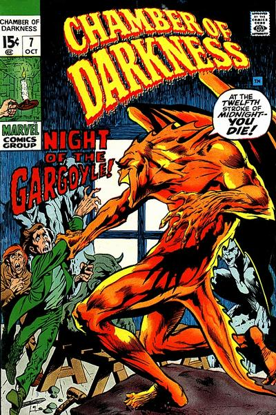 Cover for Chamber of Darkness (Marvel, 1969 series) #7