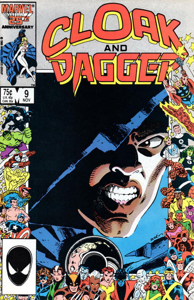 Cover for Cloak and Dagger (Marvel, 1985 series) #9 [Direct Edition]