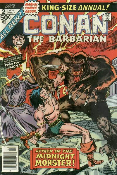 Cover for Conan Annual (Marvel, 1973 series) #2