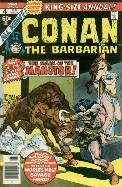 Cover for Conan Annual (1973 series) #4