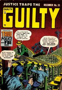 Cover Thumbnail for Justice Traps the Guilty (Prize, 1947 series) #v5#3 (33)