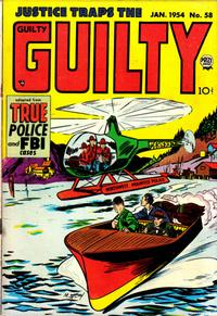 Cover Thumbnail for Justice Traps the Guilty (Prize, 1947 series) #v7#4 (58)