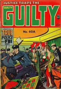 Cover Thumbnail for Justice Traps the Guilty (Prize, 1947 series) #v7#6 (60A)