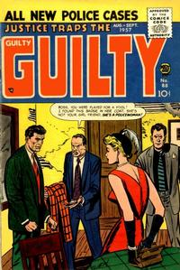 Cover Thumbnail for Justice Traps the Guilty (Prize, 1947 series) #v10#4 (88)