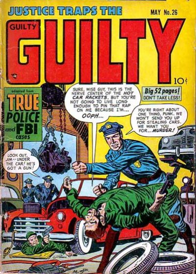 Cover for Justice Traps the Guilty (1947 series) #v4#8 (26)