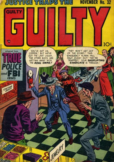 Cover for Justice Traps the Guilty (Prize, 1947 series) #v5#2 (32)