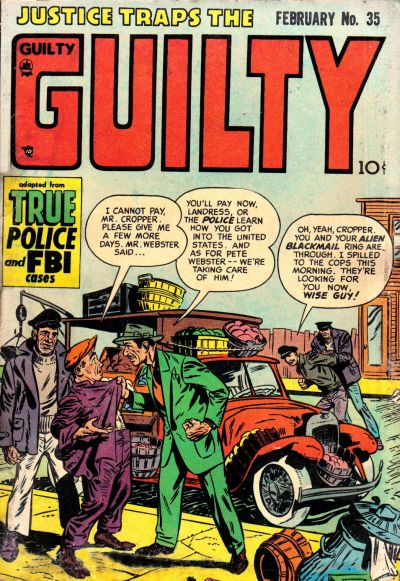 Cover for Justice Traps the Guilty (Prize, 1947 series) #v5#5 (35)