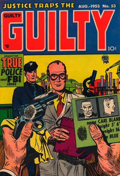 Cover for Justice Traps the Guilty (Prize, 1947 series) #v6#11 (53)