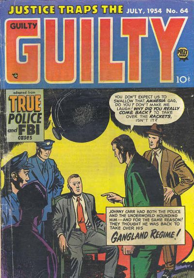 Cover for Justice Traps the Guilty (Prize, 1947 series) #v7#10 (64)
