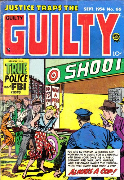 Cover for Justice Traps the Guilty (Prize, 1947 series) #v7#12 (66)