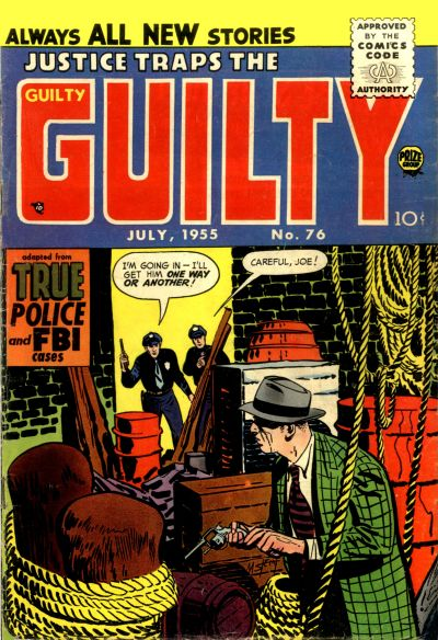 Cover for Justice Traps the Guilty (Prize, 1947 series) #v8#10 (76)