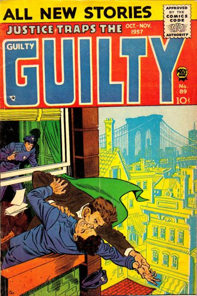 Cover for Justice Traps the Guilty (Prize, 1947 series) #v10#5 (89)