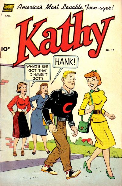 Cover for Kathy (1949 series) #12