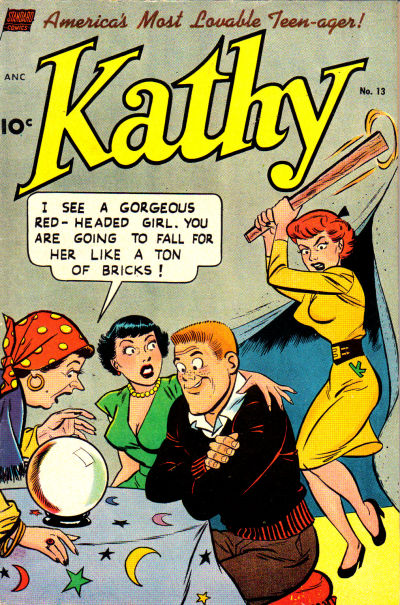 Cover for Kathy (Standard, 1949 series) #13